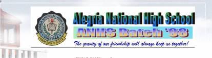 ANHS '98 Blogspot