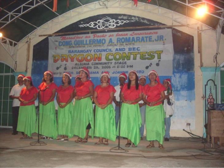 Barangay Ombong Christmas Carol Group