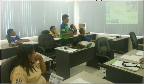 Presentation to Sangguniang Bayan of Mainit, Surigao del Norte